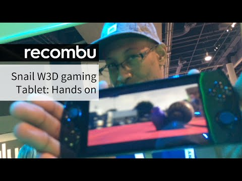 Snail Games W 3D Gaming Tablet Hands-on   CES 2015