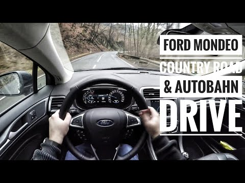 Ford Mondeo Turnier 2.0 TDCI (2017) - POV Country Road and Autobahn Drive