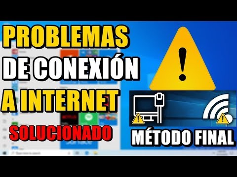ARREGLAR PROBLEMAS DE CONEXIÓN A INTERNET WIFI Y CABLE WINDOWS 10 - 2019