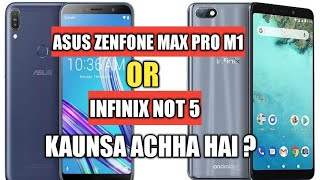 Infinix Note 5 or Asus Zenfone Max Pro ? Which One Should You Buy ?