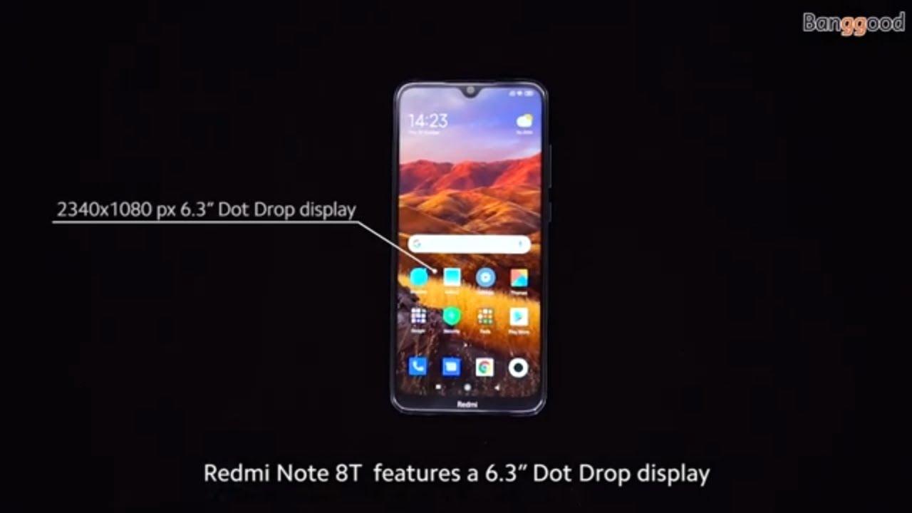 Xiaomi Redmi Note 8t Global Version 6 3 Inch Nfc 48mp Quad Rear Camera 4000mah Snapdragon 665 Youtube