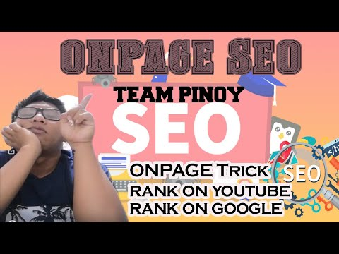 ON Page SEO Philippines | ON Page SEO Guide | Make Money Online  | Jude Vlog #3