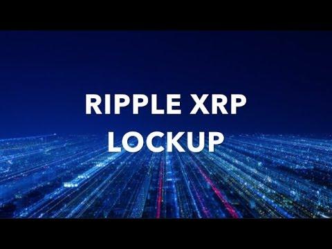 BREAKING: RIPPLE XRP LOCKUP BOOM!  (warning Crypto news)