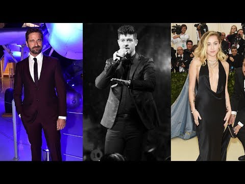 Gerard Butler, Robin Thicke, Miley Cyrus' Homes Destroyed In Devastating Fires