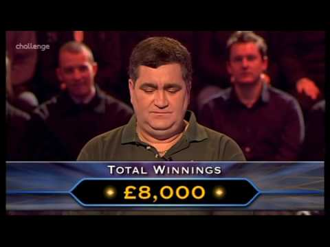 Series 15 Who Wants to be a Millionaire 7th February 2004