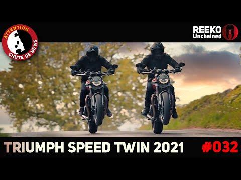 🔴 TRIUMPH SPEED TWIN 2021 : PRIX, DISPO & SPECS ⚠️CHUTE DE NEWS  🔴REEKO Unchained
