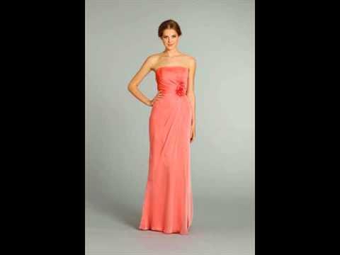 coral-bridesmaid-dress-models