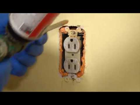 Energy Efficiency Upgrade - How to Seal Up Outlets