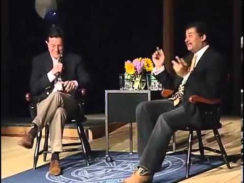 Stephen Colbert Interviews Neil deGrasse Tyson(MUST WATCH!!!)