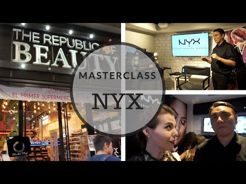 Masterclass NYX Nuevas Tendencias - Republic of Beauty - Blackat Makeup