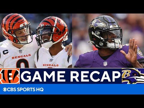 Joe Burrow, Bengals Dominate Ravens 41-17   FULL Recap   CBS Sports HQ