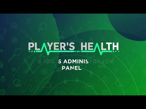 Player's Health Summit 2018 - Administrator Panel