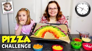 Video PIZZA CHALLENGE von Oh Gott diese Familie 🌈🍕 Wir machen REGENBOGEN Pizza download MP3, 3GP, MP4, WEBM, AVI, FLV Januari 2018