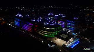 Sensitive Premium Resort Hotel Facade Lighting-Dış Cephe Aydınlatma Pixel Led /Antalya - Turkey