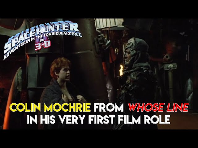 Colin Mochrie's 1st Film Role-
