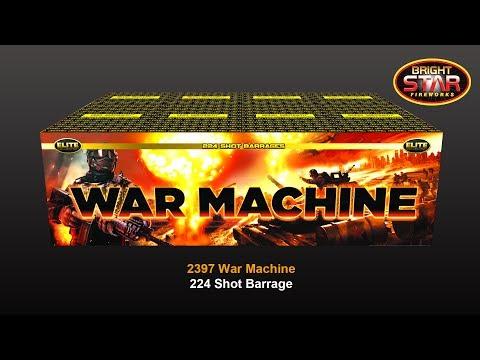 Bright Star Fireworks - 2397 War Machine Barrage
