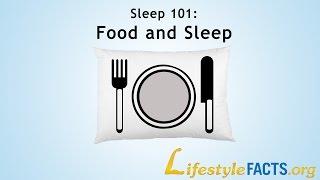 """Sleep 101 - Food And Sleep"" - Virginia Gurley, MD, MPH - LifestyleFACTS.org"