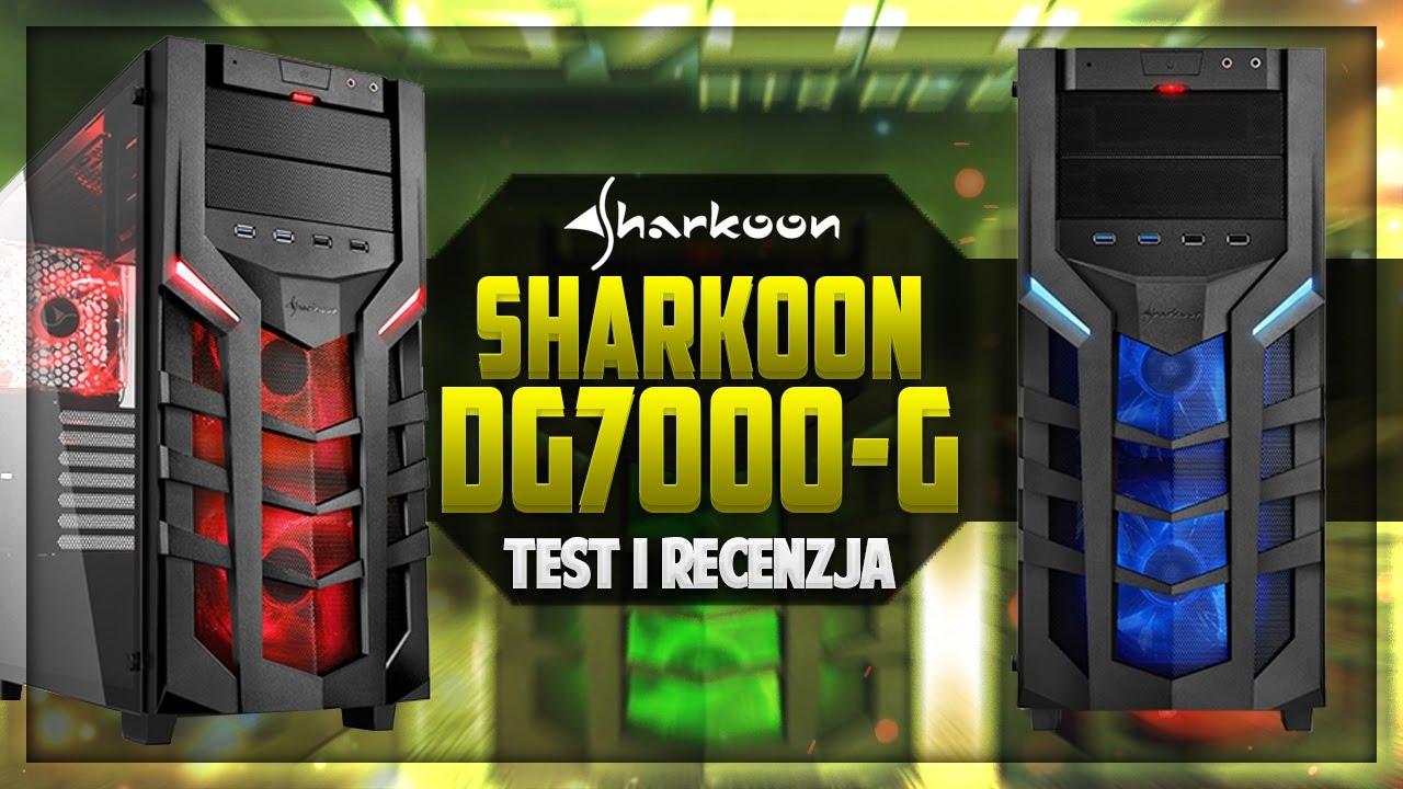 Sharkoon Dg7000g Test Obudowy Z Panelem Hartowanego Szka Youtube Dg7000 G Green Atx