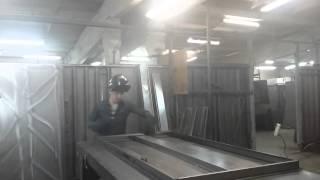 видео Процесс изготовления подъездных дверей