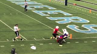 Grant Thompson Ashe Co High School Class of 2018 Sr Sideline Highlights