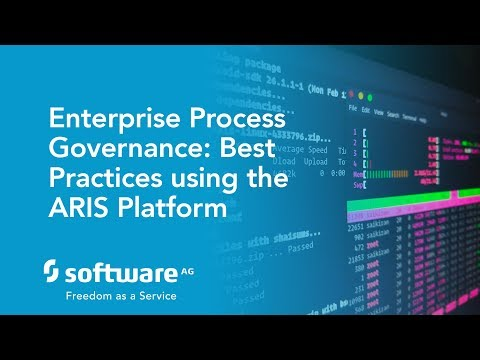 Enterprise Process Governance: Best Practices using the ARIS Platform
