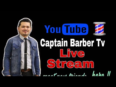 HIP-HOP  Captain Barber TV Live Stream