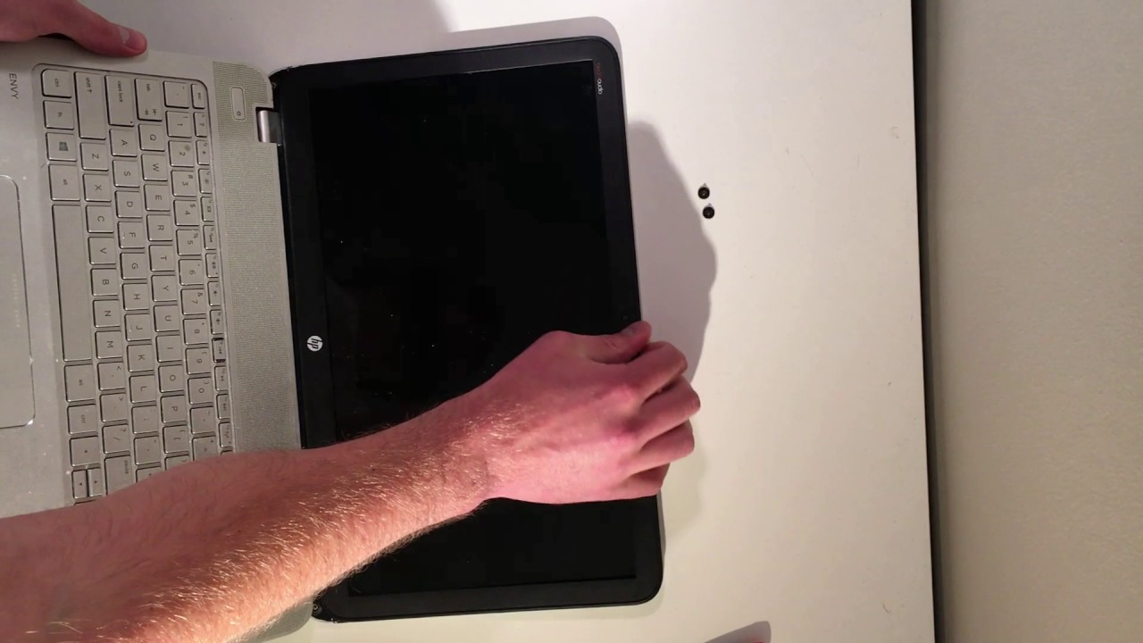 Laptop Screen Replacement Hp Envy 15 Youtube