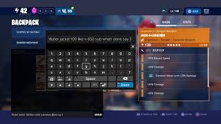 Fortnite Save The World Live Trading+Giveaway @650 Sub #sunbeam