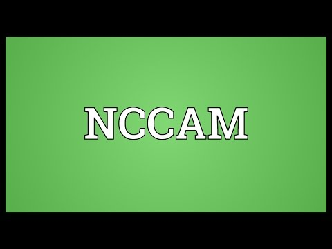 NCCAM Meaning