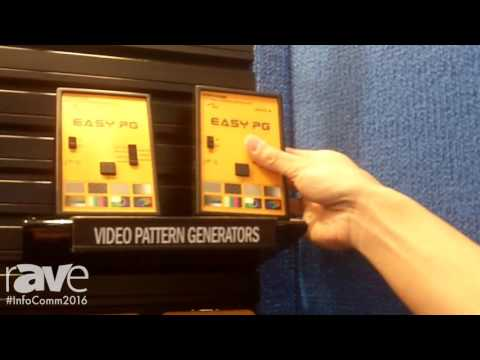 InfoComm 2016: QVS Showcases Video Pattern Generators