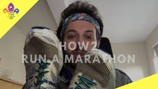HOW2 Run A Marathon | SCOUTADELIC #SkillsForLife