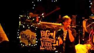 Big D & the Kids Table - The Sounds of Allston & New Nail Bed @ Paradise in Boston, MA (10/29/11)