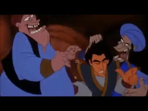 Welcome to the Forty Thieves/Bizden Birisin-Aladdin and the King of Thieves-Türkçe/Turkish