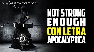 Not Strong Enough | Con Letra | Sub Español | Apocalyptica | DMC4 2/2