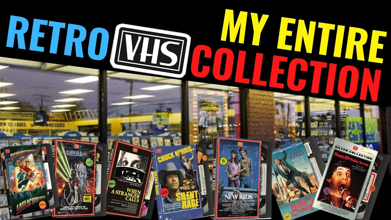 Download Retro VHS Blu-ray Slipcover Collection & Giveaway