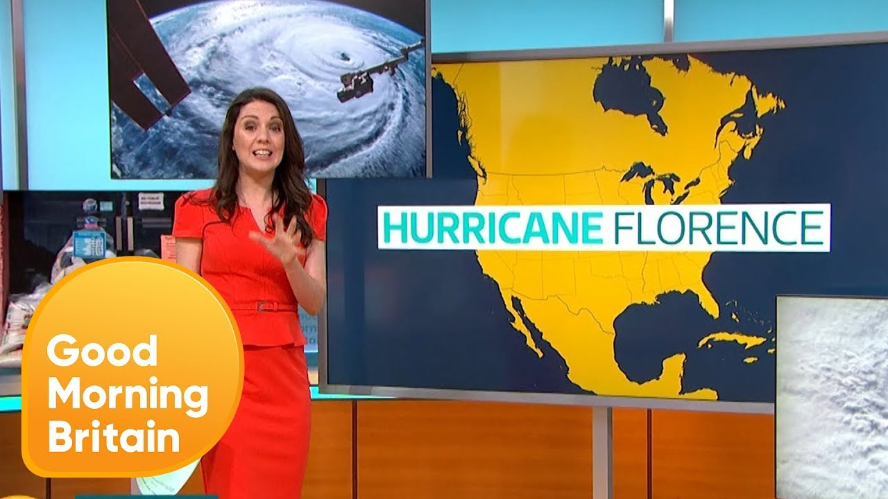 Will Hurricane Florence Be Worse Than Hurricane Katrina? | Good Morning Britain