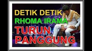 DETIK DETIK RHOMA IRAMA TURUN PANGGUNG - SONETA GROUP