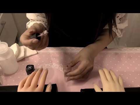 【音フェチ】Nail Salon RP personal attention 〜ネイルサロン ロールプレイ〜【ASMR】