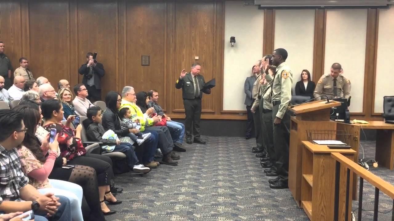 Merced County Sheriff swears in 20 new employees