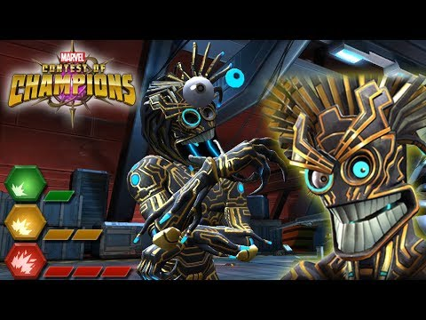 Warlock All Special Attacks: Marvel Contest of Champions (Content Creator Program)