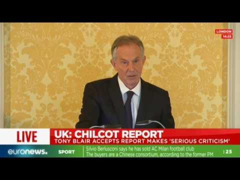 [Full speech] Tony Blair speaks after publication of Chilcot report