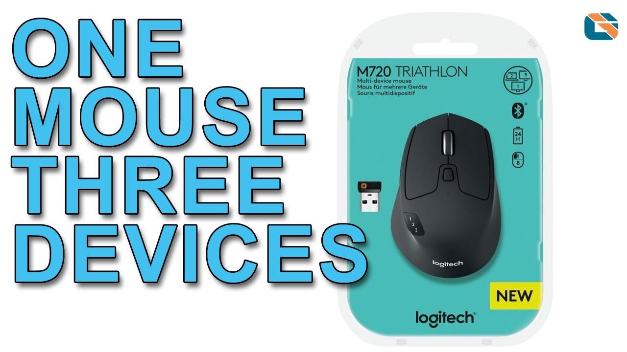 Logitech M720 Triathlon Multi Device Mouse Review