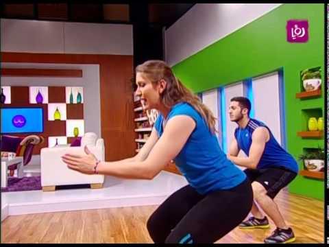 الرياضة - تمارين لحرق الدهون والسعرات الحرارية