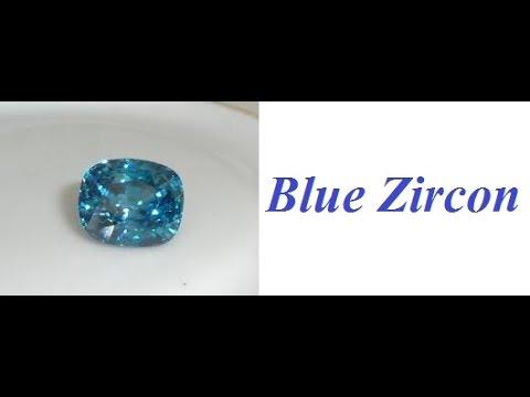 Blue zircon- A wonder Gem's- Vedic astrology -KP Astrology