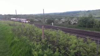 5G55 Empty Northern Rail DMU Depot Move Class 150/2 and 142 5/5/13 Video 1