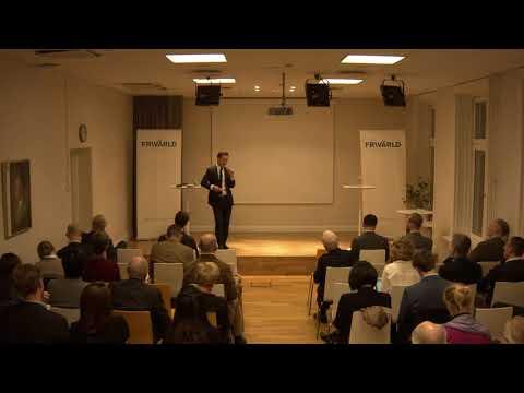 Ulf Kristersson på Frivärlds seminarium om utvecklingen i Hongkong