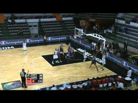 Dominican Republic Vs. Panama / 2011 FIBA Americas Championship Round 2