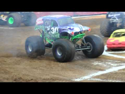 Dennis Anderson - Grave Digger Intro -- Philadelphia, PA 6-9-2012