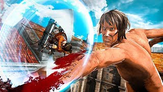 ATTACK ON TITAN 2 Action Trailer (2018) PS4 / Xbox One / Switch /PC