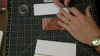 ctmh coffee stain stamp card